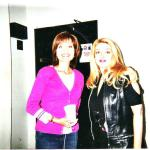 CBS News Anchor Sylvia Lopez and Anita Khalatbari